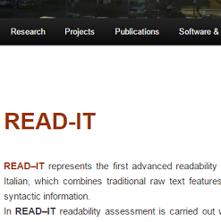 READ-IT: Assessing Readability of Italian Texts
